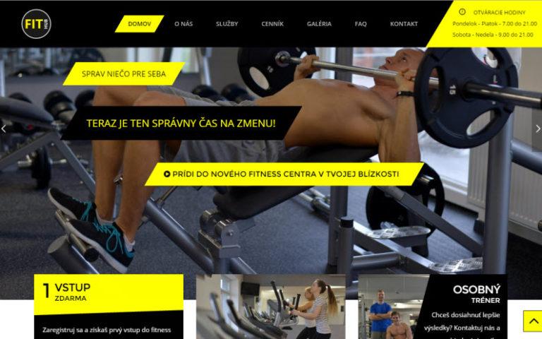 Fithub – fitness centrum Čachtice
