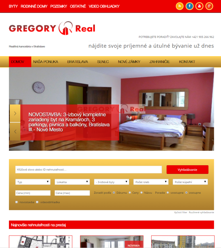 GREGORY Real, s.r.o.
